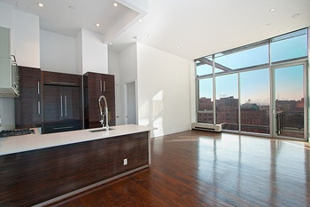 Stunning Massive 2 bed/2 bath Penthouse with a private 348 sq ft terrace and cathedral ceiling